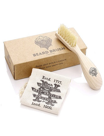 Kent Wooden Beard Brush