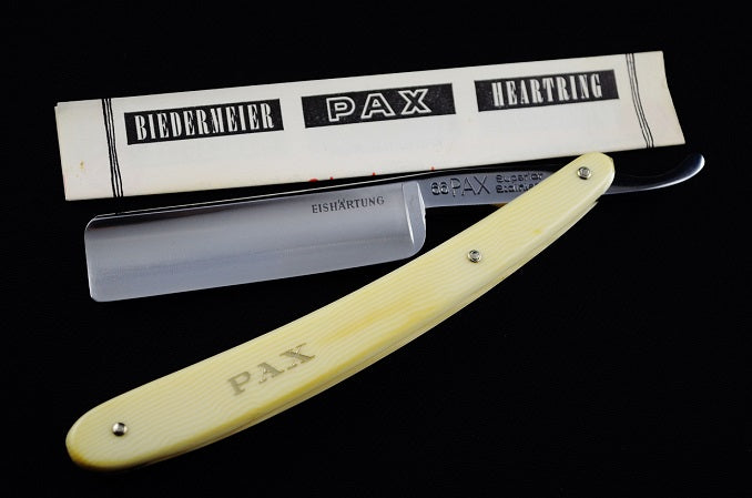 PAX Superior Stainless 6/8 Straight Razor, Brand New Never Used