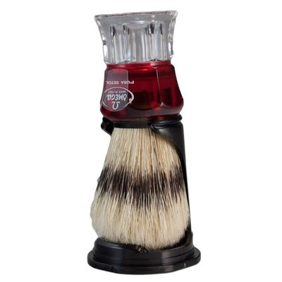 Omega 81052 Banded Boar Bristle Shaving Brush