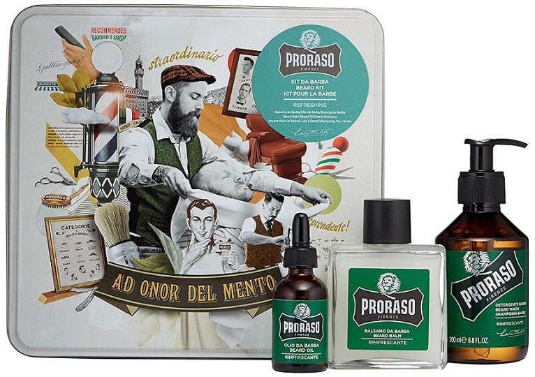 Proraso Eucalyptus & Rosemary Beard Care Gift Set