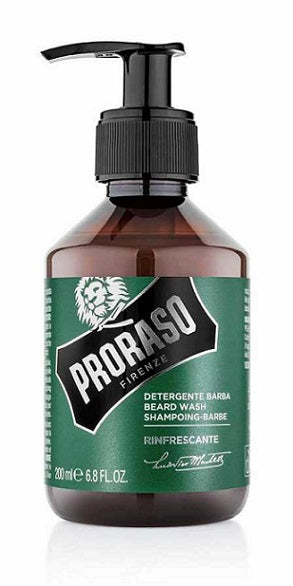 Proraso Beard Wash, Eucalyptus & Rosemary