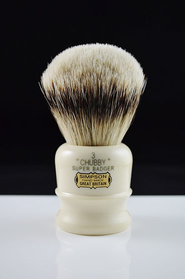 Simpsons Chubby CH3 Super Badger Shaving Brush