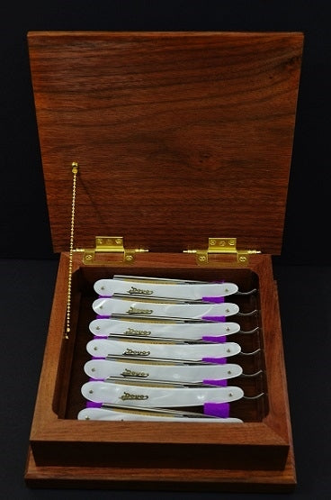 Handmade 7 Day Straight Razor Box