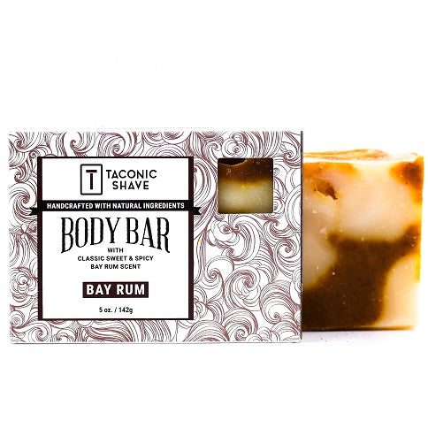 Taconic Bay Rum Body Cleansing Bar