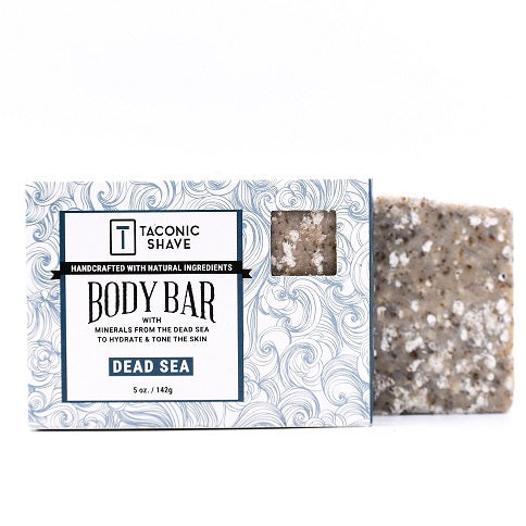 Taconic Dead Sea Body Cleansing Bar