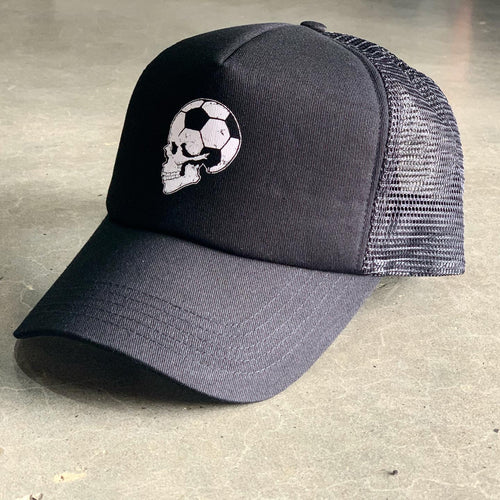 Football Brain Trucker Cap
