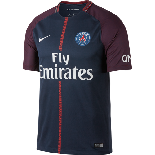 2017/18 Paris Saint-Germain Stadium Home Jersey Adults