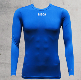 GIOCA Compression Top Royal Blue