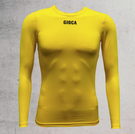 GIOCA Compression top Yellow