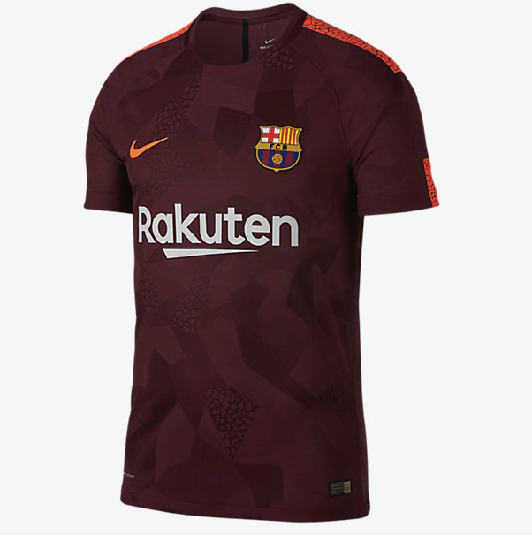 Nike 2017/18 FC BARCELONA VAPOR MATCH THIRD - Adults