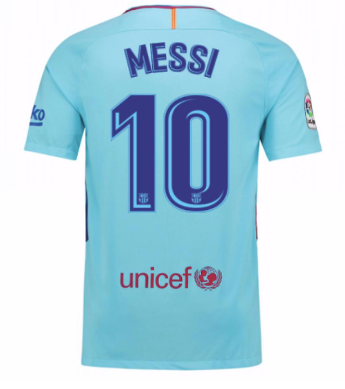 3dcf7934cb2 Nike Barcelona Away Jersey - Youth - Messi 10 – Juggles Football Culture