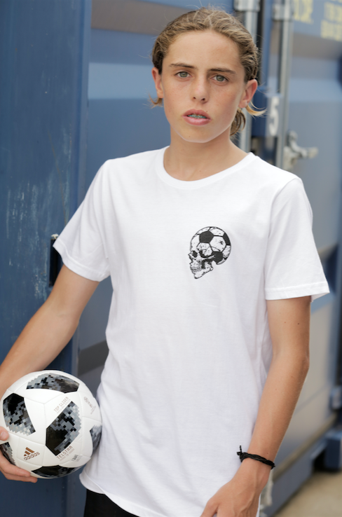 Football Brain T-shirt - Teen Unisex