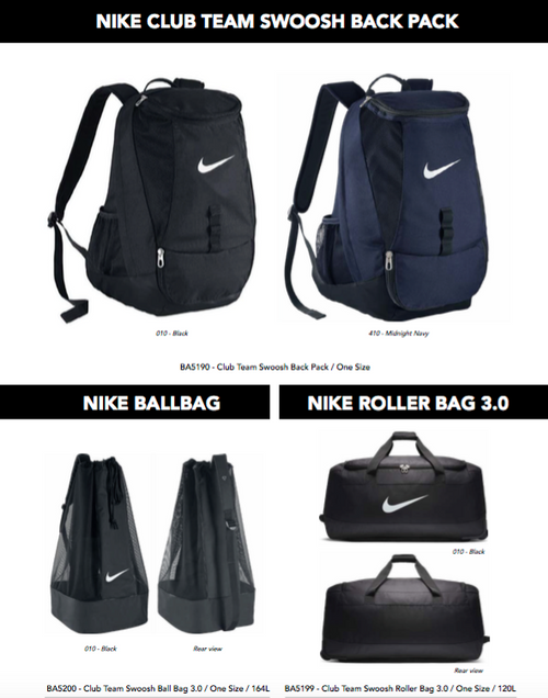 NIKE Team wear - Full Range available
