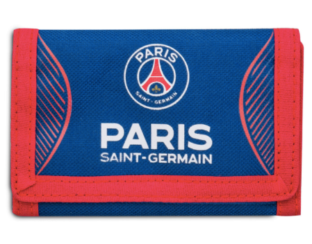Paris Saint-Germain velcro wallet