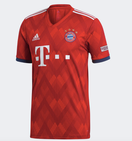 FC Bayern München 18/19 Home Jersey - Adult