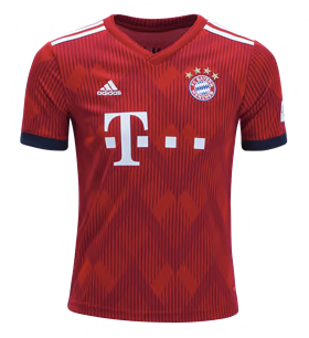 03b09cd0d FC Bayern München 18 19 Home Jersey - Youth – Juggles Football Culture