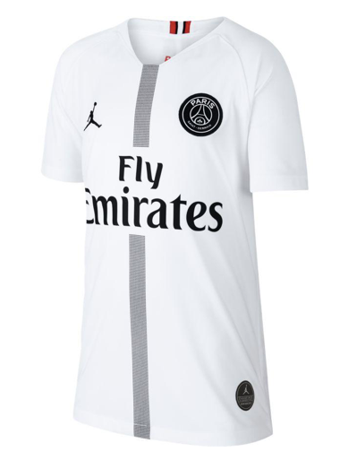 PSG x Jordan Youth Jersey - White