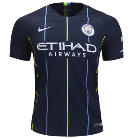 Manchester City FC 18/19 Away Jersey - Adult