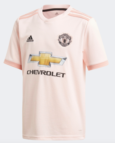 Manchester United Replica 18/19 Away Jersey - Adult