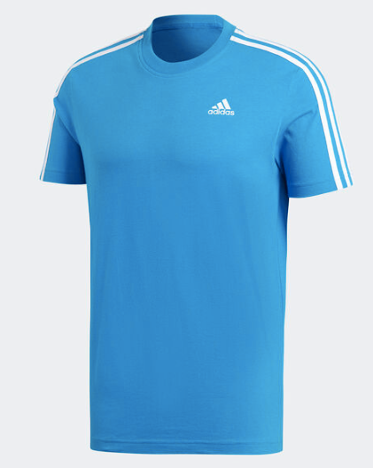 Adidas 3 Stripe T-shirt - Adult