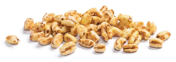 HONEY puffed wheat