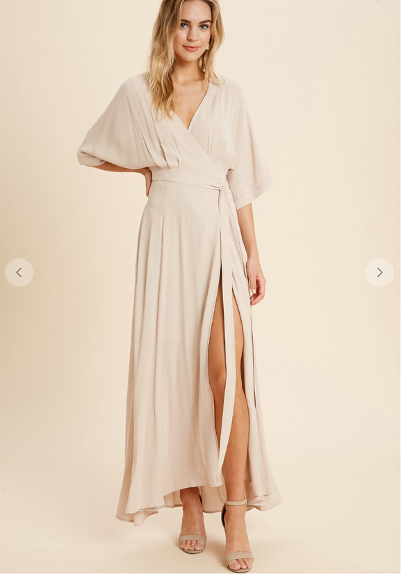 Ella Wrap Dress