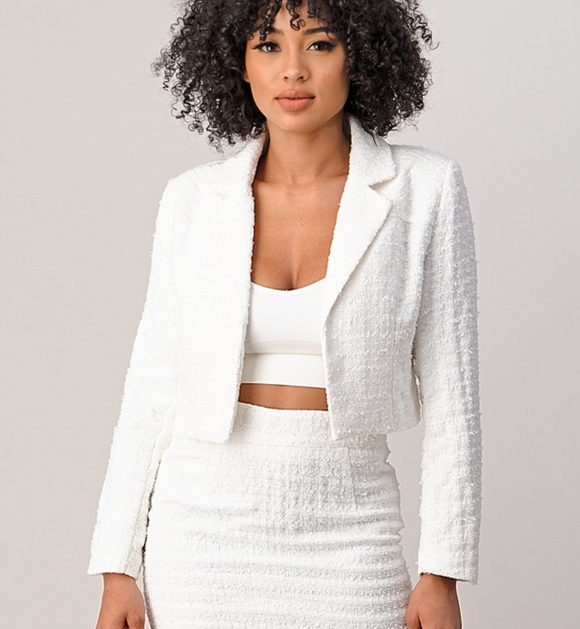 Kate Crop Blazer