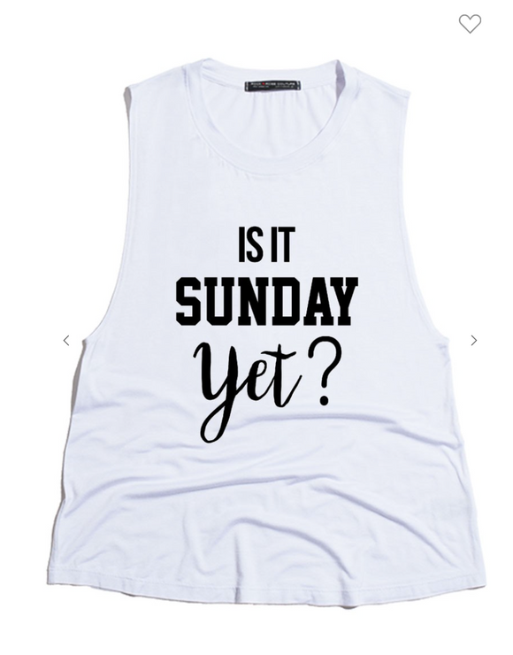 Sunday Lover Tank