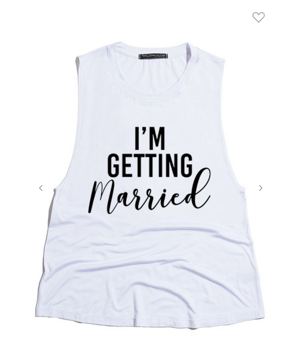 Getting Married Tank