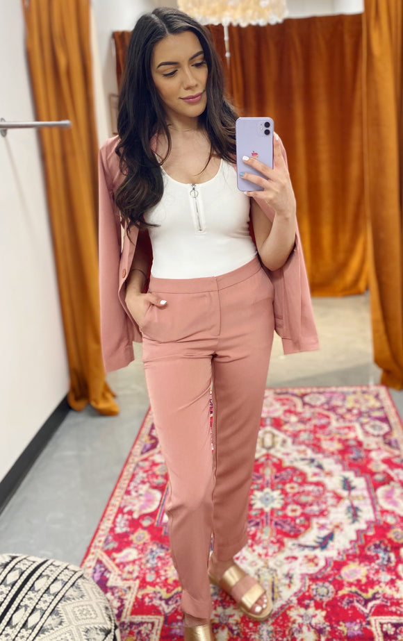 Polly Pink Pant