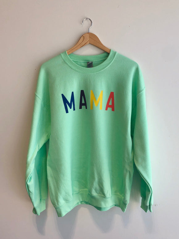 Mama Mint Sweatshirt