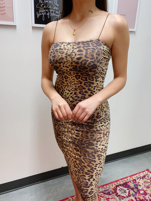 Nivea Leopard Dress