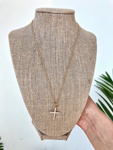 Cross Point Necklace