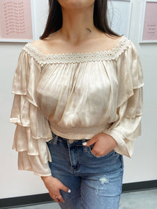 KC Cream Top
