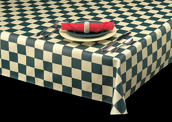 1200 Series Laminate-Americo Vinyl Table Cloths-Table Linens & Placemats-Food Service