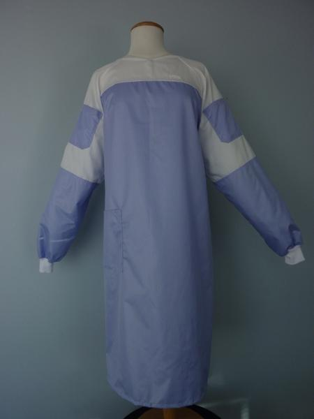 Microfibre Lab Gown with Mesh-Staff Apparel-Surgical-Health Care