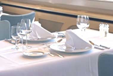 Premier Spun Polyester-Fabric Tablecloths & Placemats-Table Linens & Placemats-Food Service