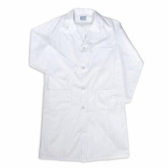 Mens Lab Coat with button front
