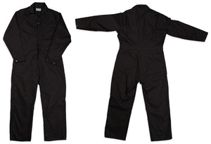 Coveralls in Postman Blue