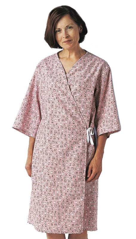 Medline Mammography Gown in Spring Bouquet