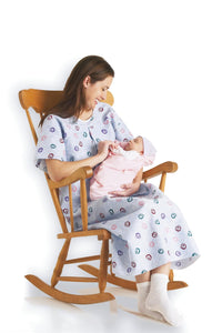 Medline Mother's Maternity Nursing Gown