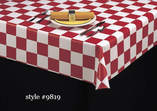 Americo 9800 Series Vinyl Table Covers