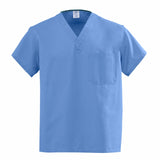 Medline scrubs-Angelstat Scrub Top Ciel Blue