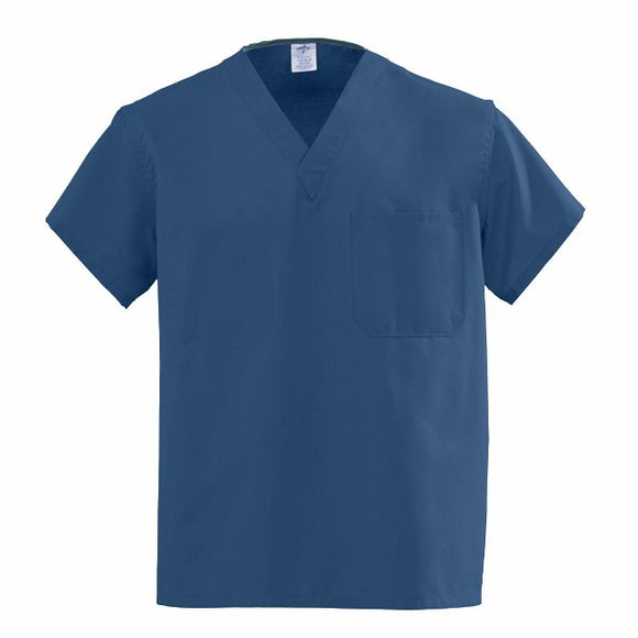 Medline scrubs-Angelstat Scrub Top Navy