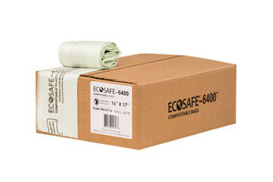 "ECOSAFE 24x32"" Compostable Garbage Bags"