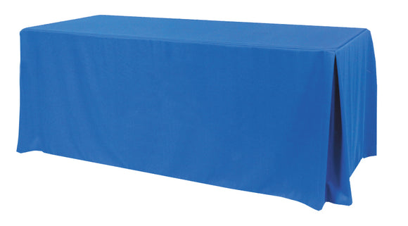 table skirts-Radius Display Pleated Table Throw Cover