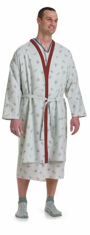Galaxy Print Patient Robe
