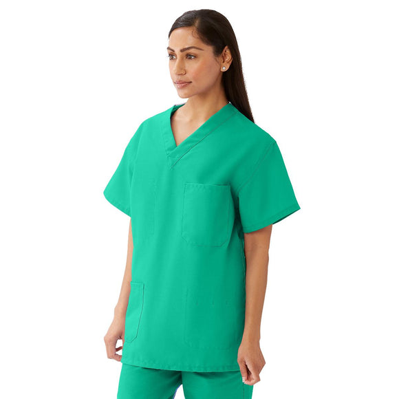 Medline scrubs in jade green
