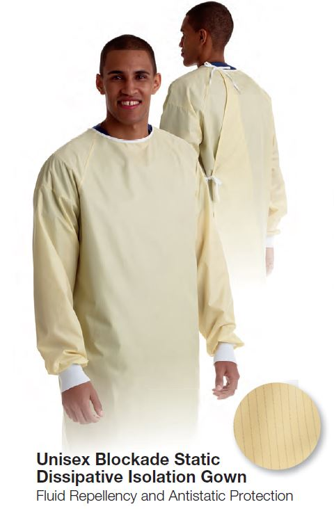 Medline Isolation Gown