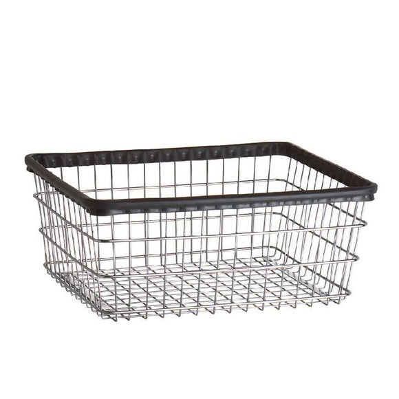 R&B Wire Std E Basket in Chrome